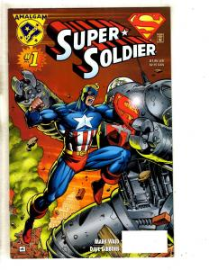 5 Comics Super Soldier 1 Strange Fate 1 Captain Marvel 31 Black Widow 2 3 J309