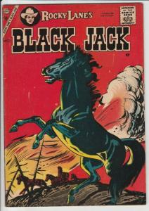 Black Jack #21 (Jan-58) VF+ High-Grade Black Jack, Rocky Lane