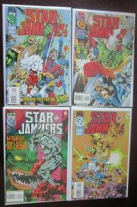 Star Jammers Comics Set # 1 - 4 - 8.0 VF - 1995