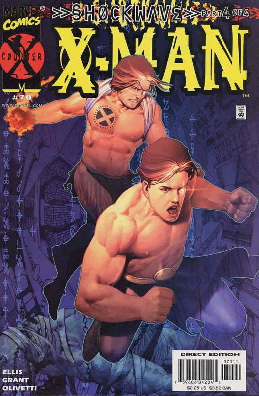 X-Man #70 FN; Marvel | save on shipping - details inside
