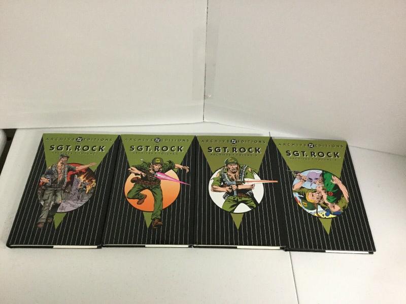 Archive Editions Sgt. Rock Volume 1 2 3 4 TPB Lot Nm Near Mint DC Comics
