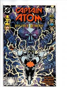 DC Comics Captain Atom #16 Pat Broderick Art Red Tornado, Black Canary
