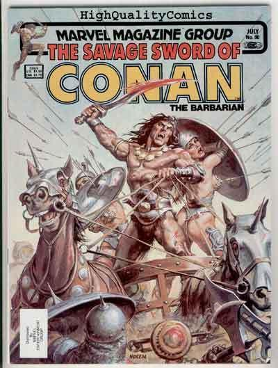 SAVAGE SWORD of CONAN #90, FN+, Redondo, Buscema, more SSOC in store