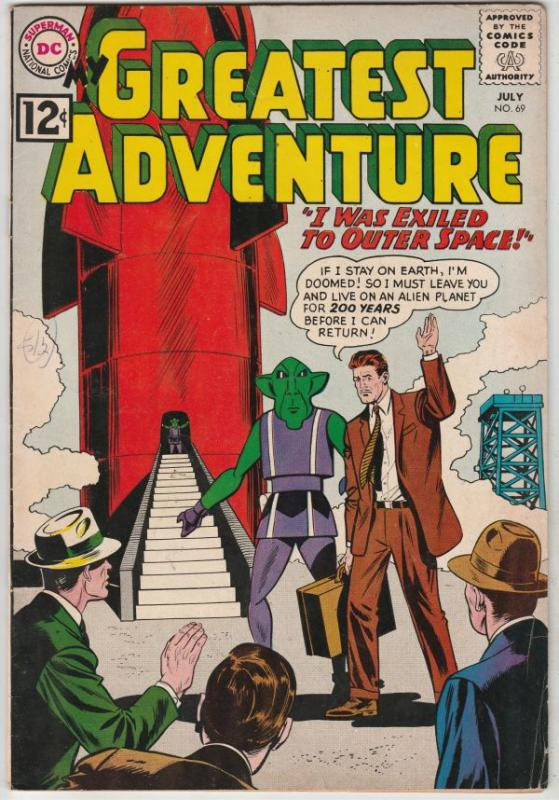 My Greatest Adventure #69 (Jul-62) VF High-Grade