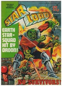 STAR LORD (BRITISH WEEKLY) 15 VF ( 8/12/78)