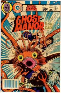 GHOST MANOR (1971-1984) 58  F-VF Aug. 1981