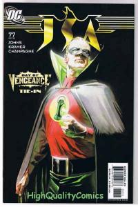 JSA #77, NM, Alex Ross, Green Lantern, Vengeance, 1999, more in store