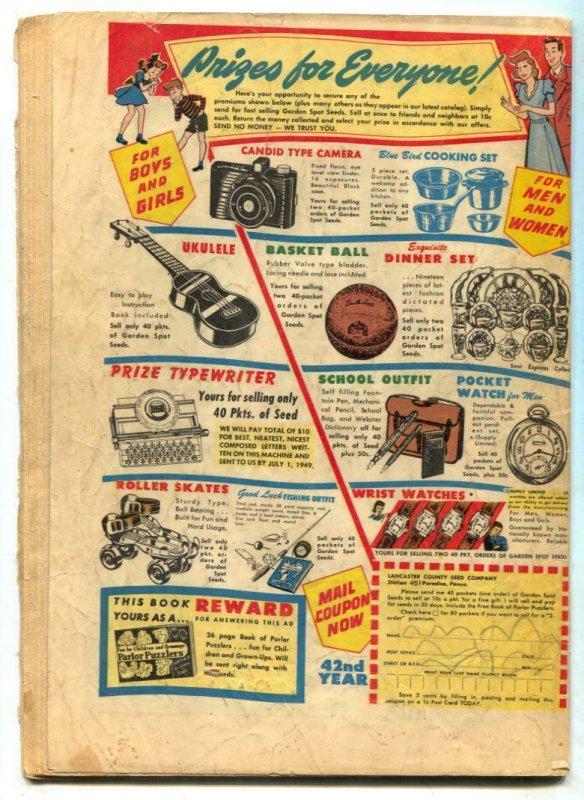 National Comics #70 1948- Barker- Quicksilver P