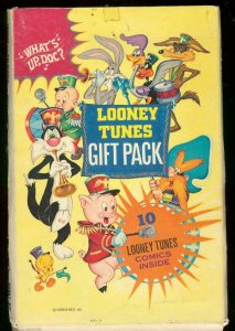 LONEY TUNES GIFT PACK-10 WHITMAN COMICS-VERY RARE SET VG