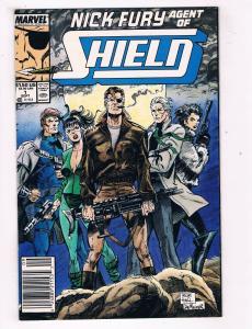 Nick Fury Agent Of Shield #1 VF Marvel Comics Comic Book Sept 1990 DE40 AD14