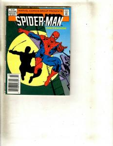 Lot of 9 Spider-Man Magazines #2 3 4 4 6 6 7 13 The Amazing Spider-Man #3 WS15