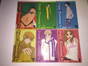 Lot Of 6 Hat Gimmick Shojo Manga Comic Books # 1 2 3 4 5 7 Miki Aihara Viz J246