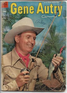 Gene Autry #76 - Golden Age - June 1953 (G)