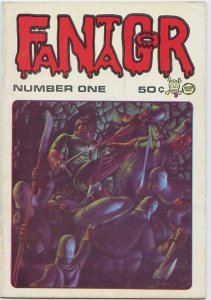 FANTAGOR #1 (Corben, Second Printing, Pentagram Press) Scarce in Very Fine