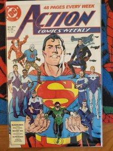 Action Comics #601 (DC, 1988) Condition: VF
