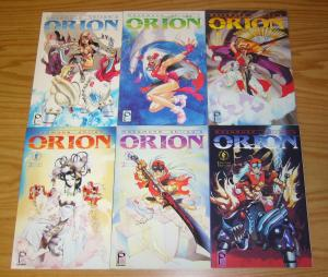 Orion #1-6 VF/NM complete series - masamune shirow - studio proteus dark horse
