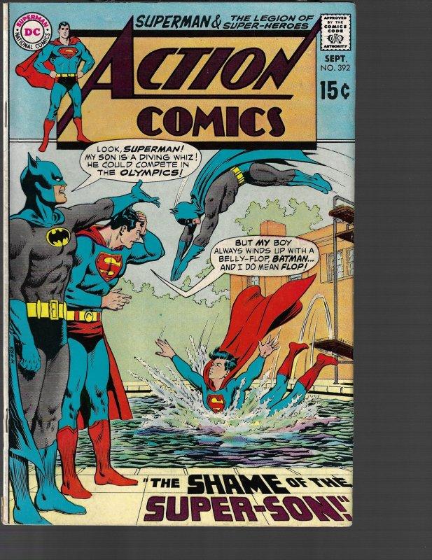 Action Comics #392 (DC, 1970) FN-