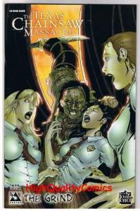 TEXAS CHAINSAW MASSACRE : GRIND #3, NM+, Terror, 2006, more Horror in store
