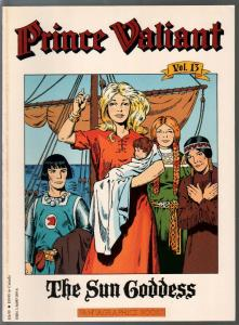 Prince Valiant #13 1990-Fantagraphics-color reprint-Hal Foster-Sun Goddess-VF