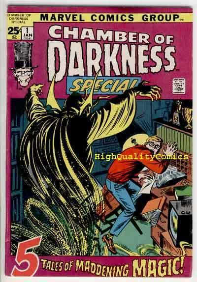 CHAMBER of DARKNESS #1,Special,Buscema, Horror,1969, FN