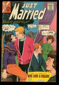 JUST MARRIED #37 1964-CHARLTON-ROMANCE-HEADLIGHT FN