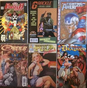 SIX NUMBER ONE TITLES FROM 6 DIFFERENT PUBLISHERS ALL NM CONDITION