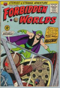 Forbidden Worlds 125 Feb 1965 FI- (5.5)