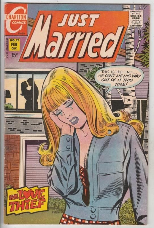 Just Married #75 (Feb-71) VF/NM High-Grade