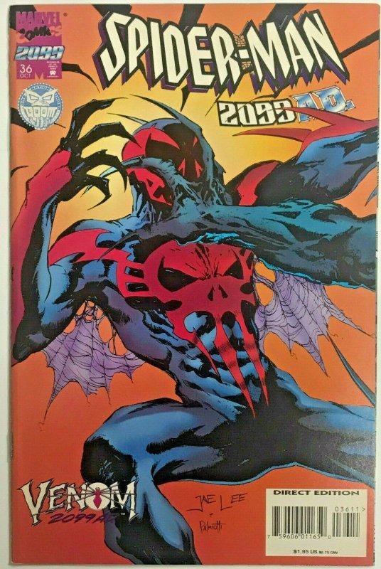 SPIDER-MAN 2099#36 VF/NM 1995 VARIANT 'VENOM' MARVEL COMICS