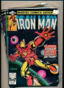 MARVEL SET of 5- IRON MAN #142-146 1980  VERY FINE (PF715)