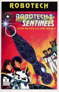 ROBOTECH II : The Sentinels Book IV #9 Academy Comics Ltd. 1996 ~ NM (PF282) htf