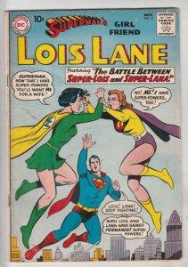 Lois Lane, Superman's Girlfriend  #21 (Nov-60) FN+ Mid-High-Grade Superman, L...