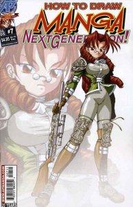 How to Draw Manga: Next Generation #7 VF/NM; Antarctic   save on shipping - deta