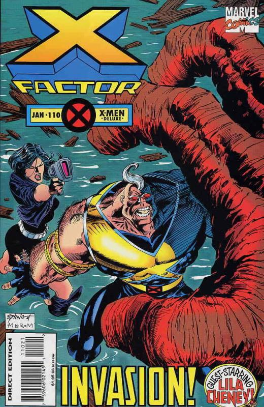 X-Factor #110 Deluxe VF/NM; Marvel | save on shipping - details inside
