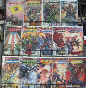 Justice League of America (DC New 52 2012) #1-14 Complete Storyline Geoff Johns