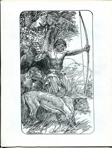 Erbania #61 1990 -Edgar Rice Burroughs-Tarzan-J. Allen St. John-info-pix- VG