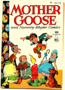 MOTHER GOOSE and Nursery Rhyme Comics (Dec1944) Four Color #59 VG/FN .All Kelly!