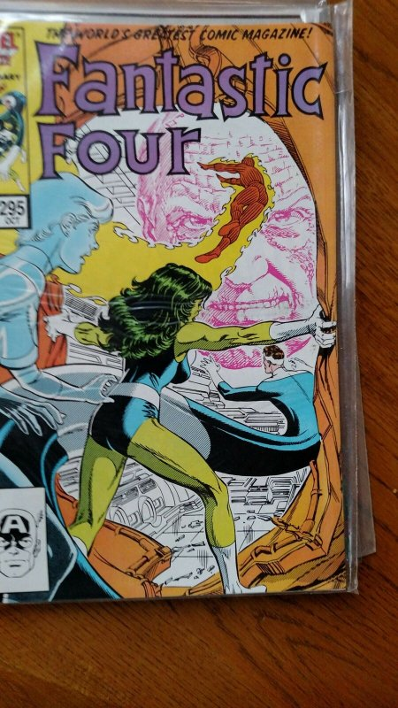 Fantastic Four #295 (Marvel,1986) Condition VF/NM