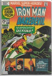 Marvel Super-Heroes   vol. 1   # 30 GD Iron Man, Daredevil