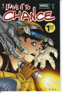 Leave It to Chance #1 (2nd) VF/NM; Image   save on shipping - details inside