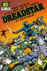 Dreadstar (1982 series) #1, VF (Stock photo)