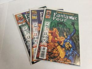 Fantastic Four Fireworks 1-3 Lot Set Run Nm Near Mint Marvel Remix A39