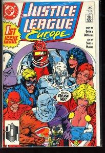 Justice League Europe #1 (1989)
