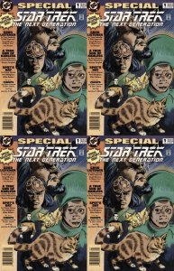 Star Trek: The Next Generation Special #1 Newsstand Covers (1993-1995) DC - 4...