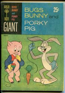 Bugs Bunny and Porky Pig #1 1965-Gold Key-1st issue-newsprint cover-VG/FN