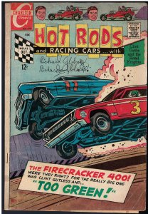 Hot Rods and Racing Cars #92 (Charlton, 1968)
