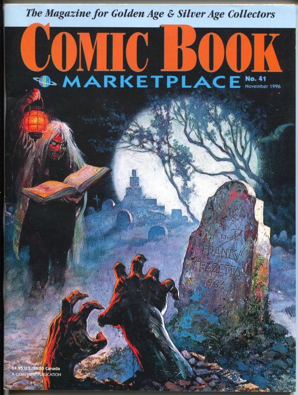 Comic Book Marketplace #41 1996-Gemstone-Frazetta-Phantom-Felix The Cat-VF