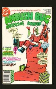 DC Comics Ambush Bug Stocking Stuffer No 1 1986