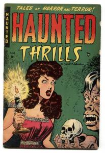 Haunted Thrills #1 1952-Pre-code Horror-Cross dressing-Vampires