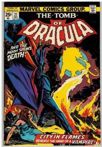 TOMB OF DRACULA 27 VG-F Dec. 1974 COMICS BOOK